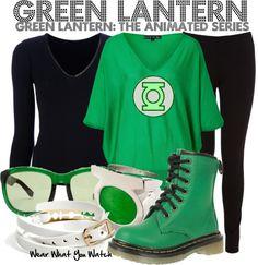 Inspired by Josh Keaton (voice) as Hal Jordan/Green Lantern on Green Lantern: The Animated Series.