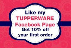 Facebook Tupperware Note