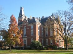 East College, at Depauw University, my Alma Mater. Gorgeous!