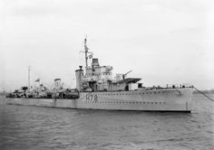 HMS Fame was converted into an escort destroyer while under repair and was assigned to escort duties in the North Atlantic in 1942. She sank two German submarines before she was transferred back to British coastal waters in May 1944 to protect the build-up for Operation Overlord.