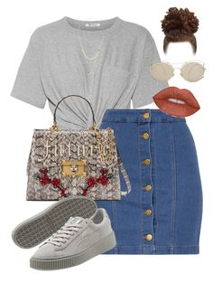 """""""Untitled #261"""" by champagnayegang on Polyvore featuring T By Alexander Wang, Gucci, Charlotte Russe and Miu Miu"""