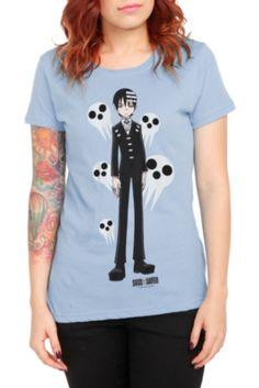 746bbe180c0 Soul Eater Death The Kid Girls T-Shirt Soul Eater Death
