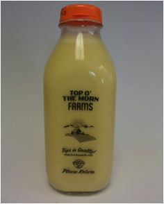 Top O'the Morn Farms uses Stanpac's wholesale glass milk bottles to package dairy products fresh from their farms. Read how refillable glass containers help Glass Milk Bottles, Glass Containers, Farms, Top, Milk Bottles, Homesteads, Crop Shirt, Shirts