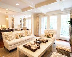 J.K. Kling Associates, Living Room Open Concept