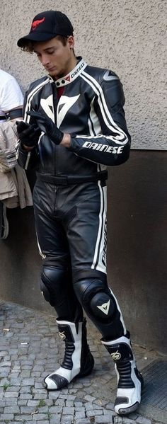 Hot Dainese leather boy