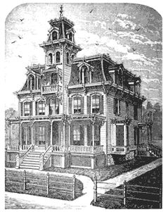 YES!!! I have always wanted to live in the Munsters home!  house Plans for Victorian House