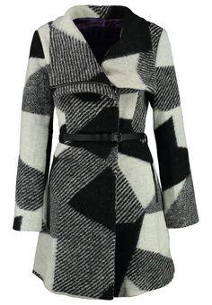 Desigual SIDNEY Cappotto classico nero - http://www.siboom.it/desigual-cappotto-donna-abrig-roxana-nero_offerte.html