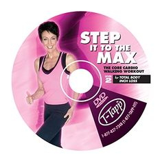 Step it to the Max  Advanced Walking Workout by TTapp DVD ** Learn more by visiting the image link. (Note:Amazon affiliate link)