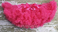 A personal favorite from my Etsy shop https://www.etsy.com/listing/234659937/hot-pink-chiffon-pettiskirt-kids-petti