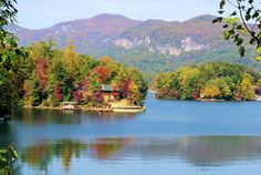 lakes near Asheville, nc | Asheville Fall Color Report and Photos | Asheville NC Mountain ...