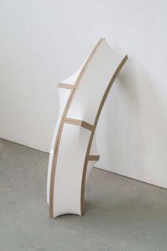 Art | Peter Blake Gallery, Jan Maarten Voskuil Cross-over Pile (Bended), 2015 Acrylic on linen