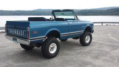 """""""Steelies and dog dishes"""" (factory steel wheels and small wheel covers) are a must on first generation Blazer K-5's."""