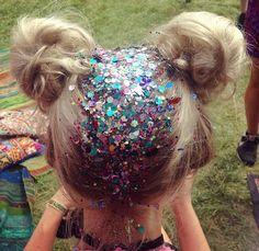 gypsy shrine hair glitter roots #GlitterRoots