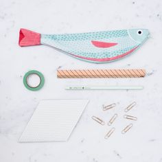 Additions to our Fish Pouch range! Today - it's the Verdin #PerfectPresents