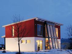 Vita 147 von Hanse Haus ➤ Alle Häuser unter: https://www.fertighaus.de/haeuser/suche/ Fertighaus, Einfamilienhaus, Fertigteilhaus, Eigenheim, Fertigbau
