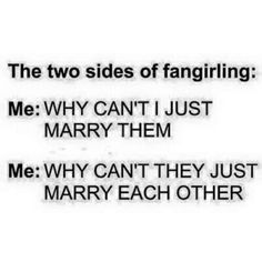 Yep... every fangirl understands the struggle