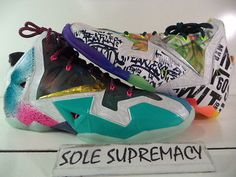 DS Nike Lebron XI 11 Premium WHAT THE 14