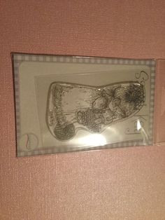 Clear Stamp Stampavie By Sarah Kay My Sweet Lili Rubber Stamp