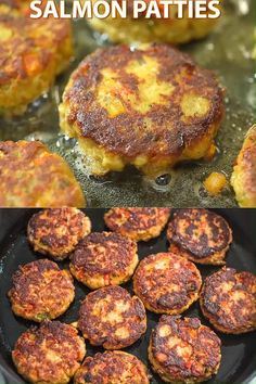 Easy Salmon Patties This Easy Salmon Patty recipe is definitely a keeper. Made with canned salmon and simple ingredients, you'll want to make it again and again. Visit Cooktoria for printable recipe and step-by-step instructions. Baked Salmon Recipes, Meat Recipes, Seafood Recipes, Cooking Recipes, Healthy Recipes, Recipes With Canned Salmon, Simple Fish Recipes, Canned Salmon Cakes, Leftover Salmon Recipes