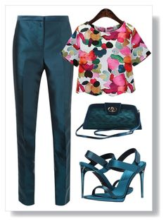 """""""Untitled #37"""" by elenalake96 on Polyvore featuring Bianca Spender, Burberry and J.Reneé"""