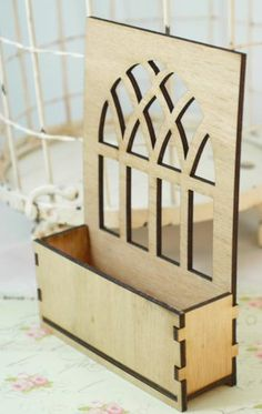 Wood window no. 3 with build a box