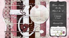 How Sweet It Is Kit 1 & 2 - $3.49 : ScrapBird!, source for digital scrapbooking