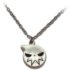 "$8.95 Soul Eater: Soul Eater Logo Icon Silver Necklace. Licensed Soul Eater merchandise. Necklace features Soul Eater logo. The necklace's symbol is approximately 1""."