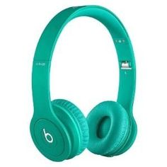 Beats By Dre Solo HD On-Ear Monochromatic Headphones (teal)The perfect mix of sound and style.Beats Solo HD headphones look as good as they sound. Drenched in color, these Beats are the first to feature mat Beats Audio, Beats Solo Hd, Beats By Dre, Ipod, Dre Headphones, Over Ear Headphones, Studio Headphones, Sports Headphones, Smartphone
