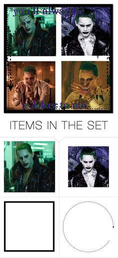 """""""Joker Icon"""" by gabbys-icons ❤ liked on Polyvore featuring art"""