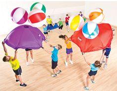 Rainbow Parachute Launch Set