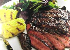 Montreal Steak - Sweet and Spicy Rub  http://recipesjust4u.com/montreal-steak-sweet-and-spicy-rub/