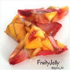 Fruity Jelly / Gelatina de frutas