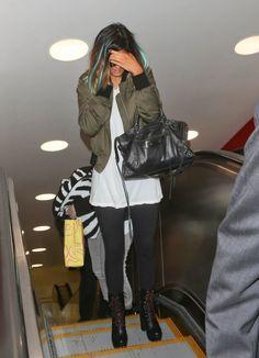 May 8, 2014 - Kylie Jenner at LAX Airport.