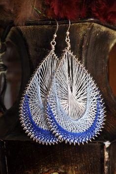 Peruvian String Art Earrings