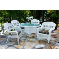 Tortuga Portside 5 Piece Patio Dining Set $1066