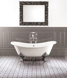 Vasca da bagno centro stanza in ghisa CHÉRIE - Devon