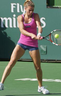 Camila Giorgi, Giorgi Tennis, Pamela Andersen, Tennis Players Female, Artistic Gymnastics, Female Gymnast, Tennis Stars, Sport Body, Sporty Girls