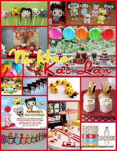 Ni Hao Kai Lan is my daughter's obsession.  possible birthday party theme?