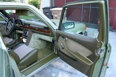 1979 Mercedes Benz 350SE Interior