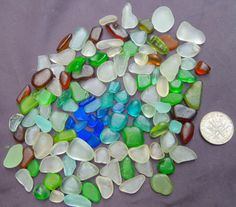 Beach Glass Sea Glass of  HAWAII  beaches by SeaGlassFromHawaii, $28.00 SALE! 8/25