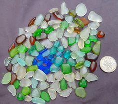 Beach Glass Sea Glass of  HAWAII  beaches by SeaGlassFromHawaii, $28.00 SALE! 8/25