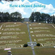 Ten Commandments Mountain, Fields of the Wood - Murphy, North Carolina