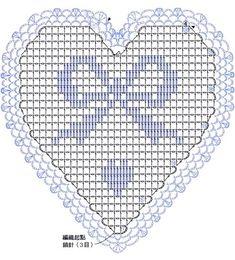 DIY Handmade: Serca na szydełku -10 schematów i wzorów