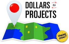 Follow donated dollars via google earth to actual clean water projects