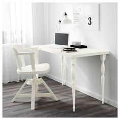 IKEA - LINNMON Table top white