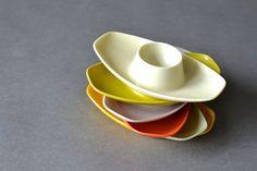 Vintage West German egg cups holders MidCentury von MightyVintage, €29.00