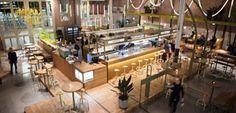 foo Kanarie Club in de Food Hallen in Amsterdam