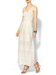 For the more bohemian bride, this Dolce Vita dress ($220) is spot-on and carefree with pretty embroidery detailing.