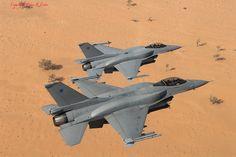 F-16C 810 & 811 18 Sq RAFO 28-01-09 by phantomfgr2