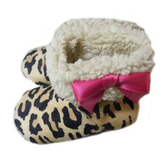 Leopard Print Fur Baby Boots-Leopard Print Fur Baby Boots,handmade faux suede infant shoe,newborn baby boots,baby shower gift